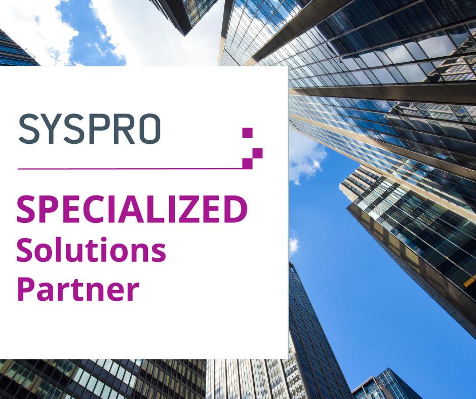 SYSPRO partnership BrainStorm IT